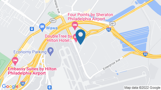 Hawthorn Suites by Wyndham Philadelphia Airport Map