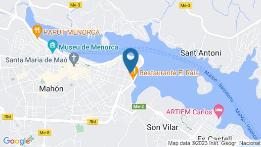 Hotel Port Mahon Map