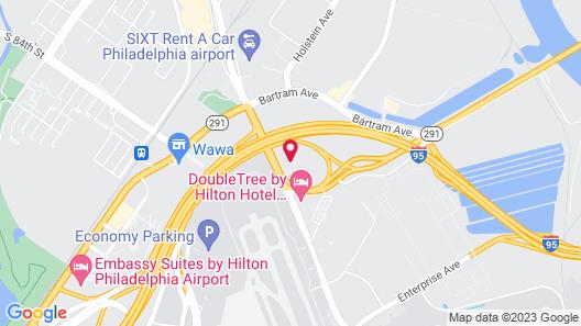 Aloft Philadelphia Airport Map