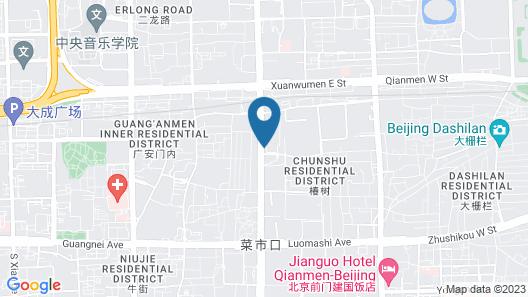 JW Marriott Hotel Beijing Central Map