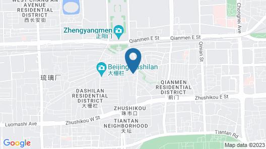 The Emperor Tiananmen Beijing Map