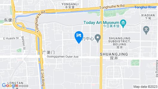 Renaissance Beijing Capital Hotel Map