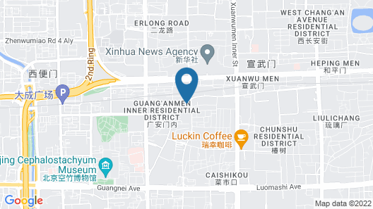 Grand Mercure Beijing Central Map