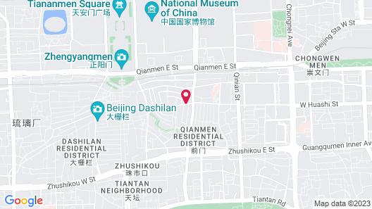 New World Beijing Hotel Map