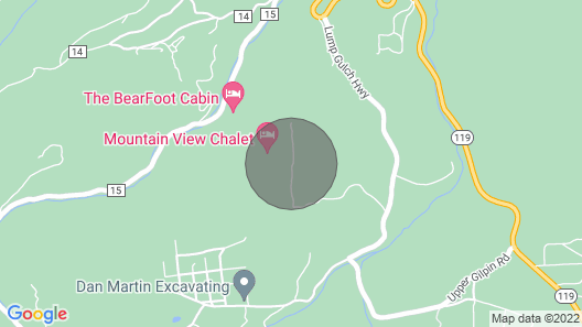 Mountain View Chalet - Amazing Divide Views and Privacy Map