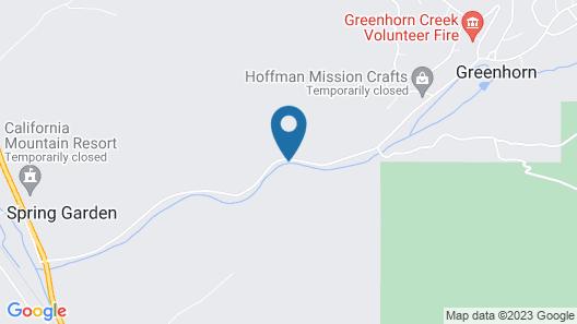 Greenhorn Ranch Map