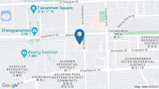 pentahotel Beijing Map