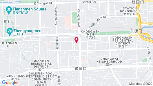Beijing New World CBD Apartment Map