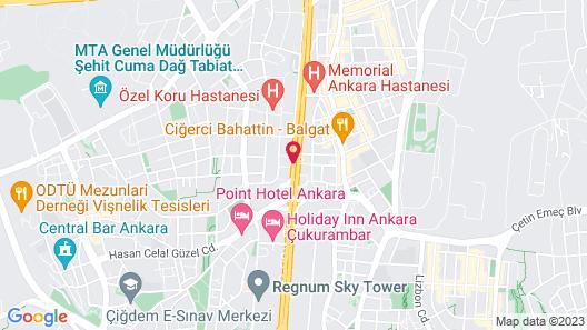 Atakosk Hotel Map