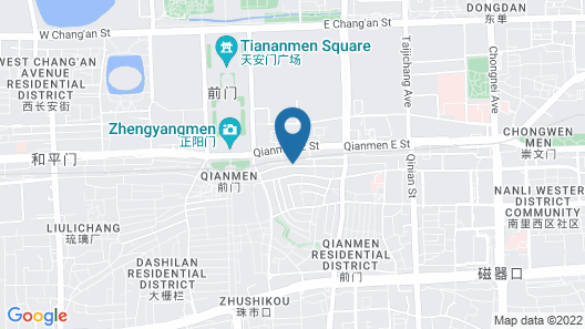 Capital Hotel Map