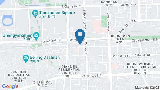 Novotel Beijing Xin Qiao Map
