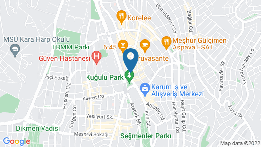 Hotel Tunali Map