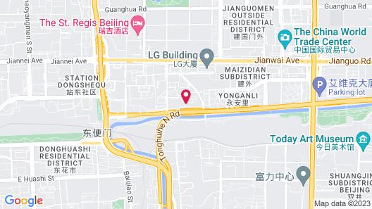 Fairmont Beijing Hotel Map