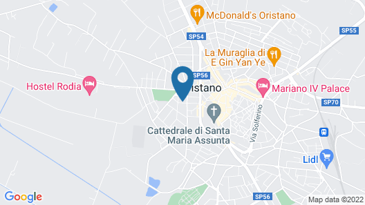 Hotel Mistral 2 Map