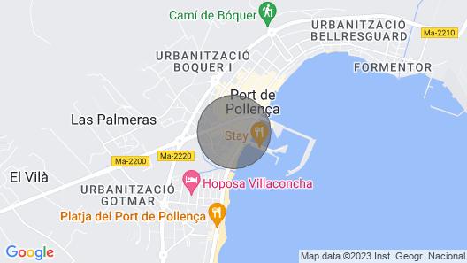 Mediterranean Feelings in Beach House Bruiet Map