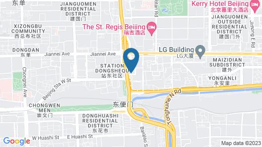 Sofitel Beijing Central Map