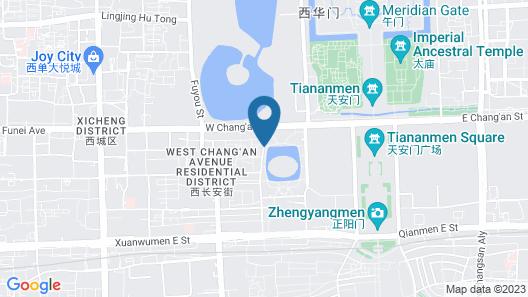Super 8 Hotel Map