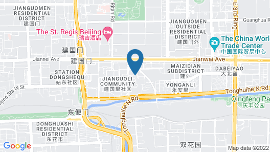 Beijing Anda Chang'anyi Apart-hotel Map