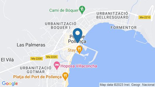 Hotel Eolo Map