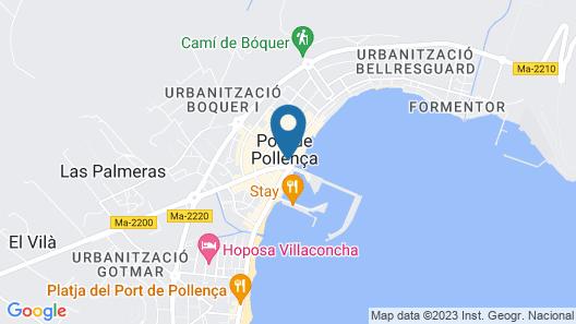 Bocchoris 22 in Pollença Map