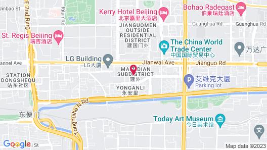 Park Hyatt Beijing Map