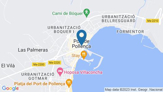 Mar Calma Hotel Map