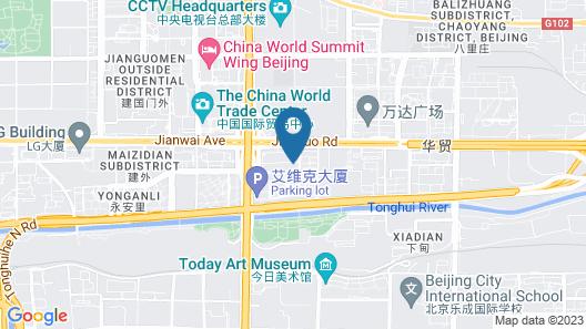 Ascott Beijing Serviced Apartments Map