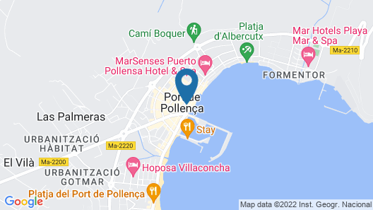 Hoposa Hotel Daina Map