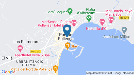 Holiday Apartment Olympo With Sea View, Mountain View, Wi-fi & Terraces; Street Parking Available Map