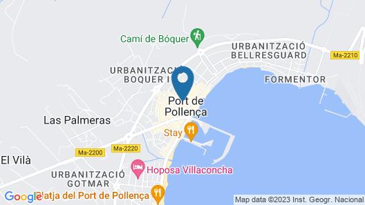 Hostal Borras Map