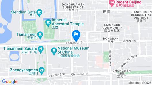 Grand Hyatt Beijing Map