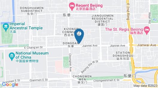 Beijing International Hotel Map
