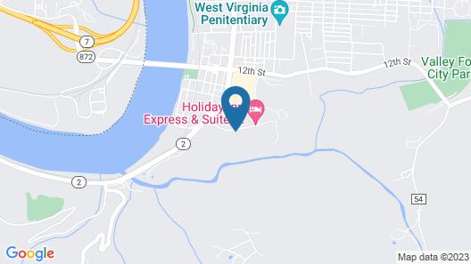 Holiday Inn Express & Suites Moundsville, an IHG Hotel Map
