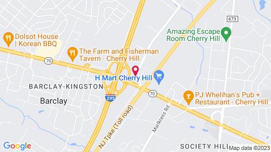Residence Inn by Marriott Cherry Hill Map