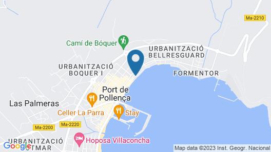Hoposa Bahía Map