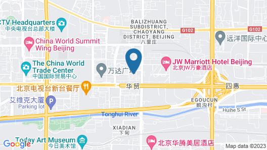 JW Marriott Hotel Beijing Map