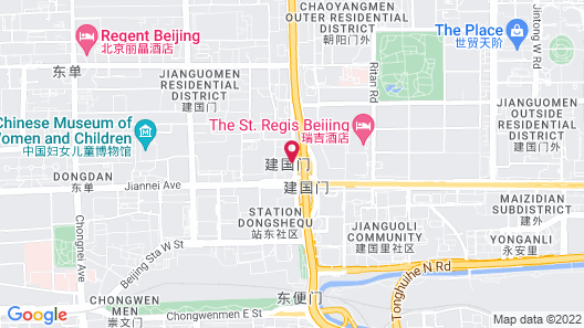 The St. Regis Beijing Map