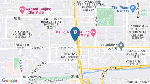 The St. Regis Beijing Map