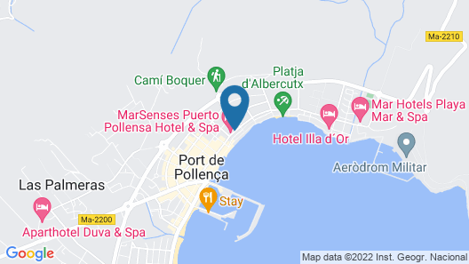 MarSenses Puerto Pollensa Hotel & Spa - Adults Only Map