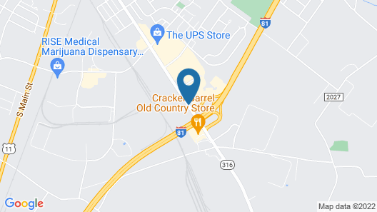 Baymont by Wyndham Chambersburg Map