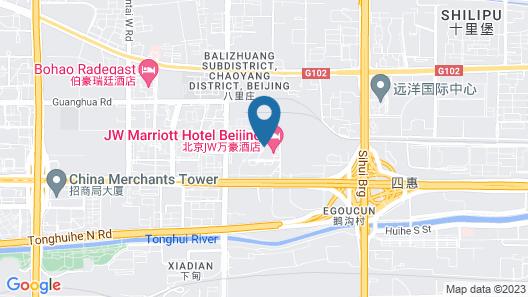 The Ritz-Carlton, Beijing Map