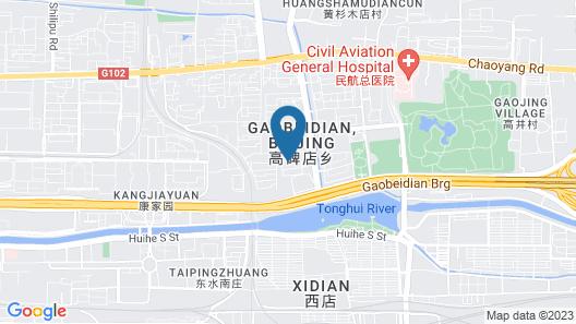 The Sandalwood, Beijing - Marriott Executive Apartments Map