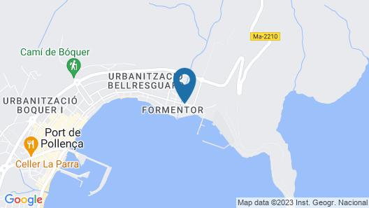 Mar Hotels Playa Mar & Spa Map