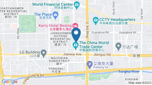 5L Hotel Beijing CBD (Former Traders Beijing) Map