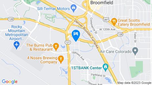 Comfort Suites Broomfield-Boulder/Interlocken Map