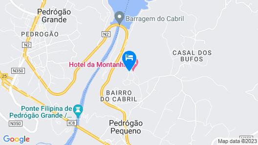 Hotel da Montanha Map