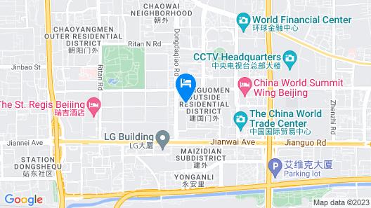 Kerry Hotel, Beijing Map
