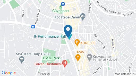 Holiday Inn Ankara - Kavaklidere Map