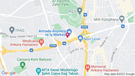 Movenpick Hotel Ankara Map