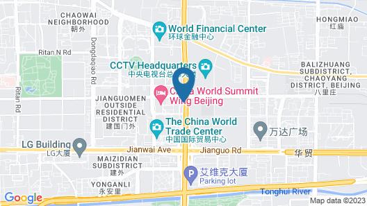JEN Beijing by Shangri-La Map